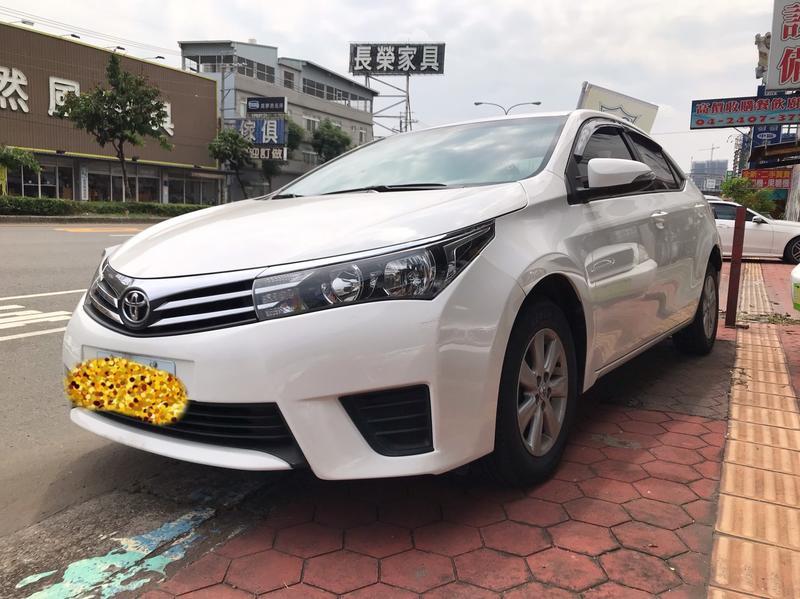 <<車美汽車>>2014年出廠 Altis 1.8L 超級省油,好開,毛病少,強力過件月付3999
