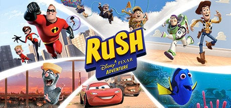 【夯夯熊電玩】PC  皮克斯衝鋒RUSH: A Disney • PIXAR Adventure Steam版(數位版)