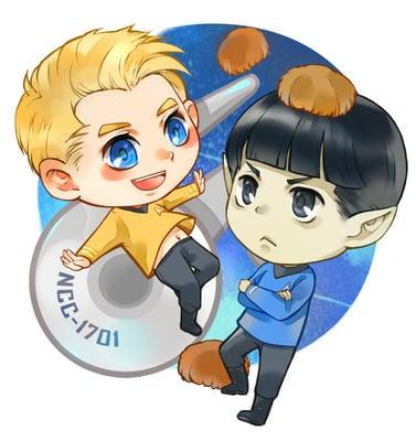 [授權代理] Star Trek 星際爭霸戰壓克力鑰匙圈 (現貨)