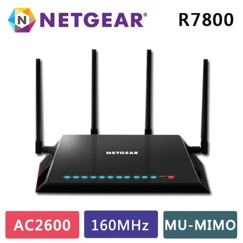 Netgear夜鷹 X4S Nighthawk R7800 11ac 2600M 極速WIFI無線寬頻分享器