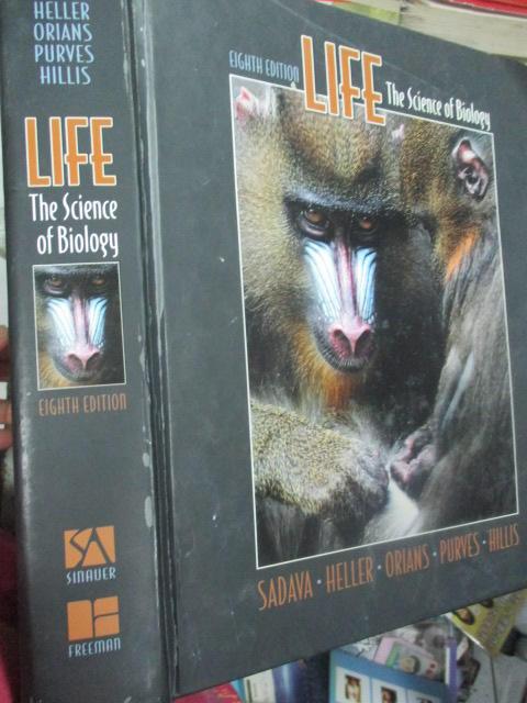 【小熊家族】     《Life: The Science of Biology 8th 》有缺頁