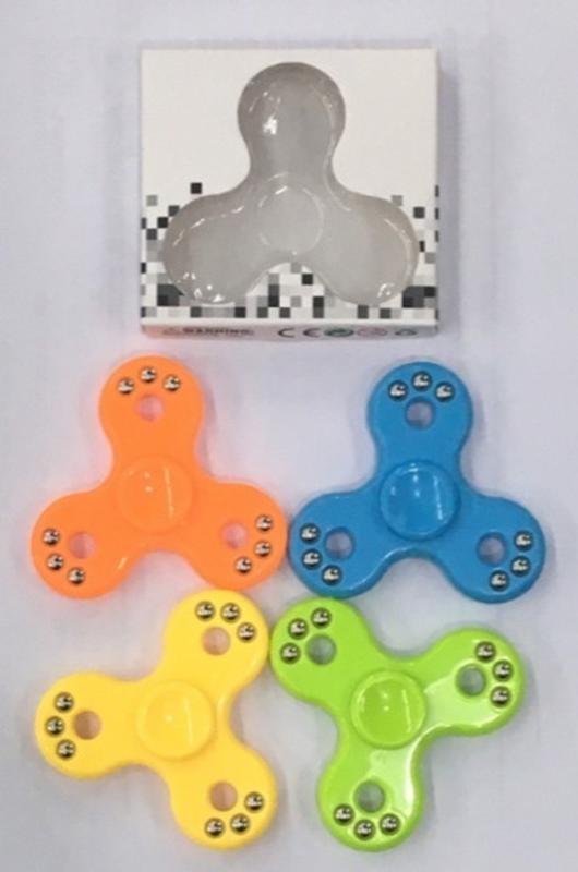「芃芃玩具」魔幻 九珠指尖陀螺  隨身減壓玩具  單個隨機出貨 貨號Z037