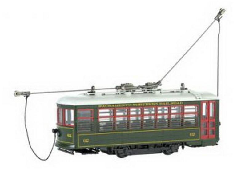 特價優惠 Spectrum 80203 HO規 Birney 數位路面電車.有室內燈