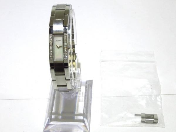可使用~白面盤~GUCCI 古馳~4600L~是代標不是現貨~女用電池徑37X13mm帶長15.5cm
