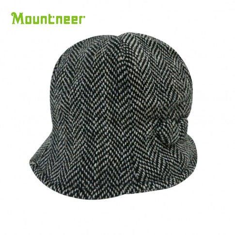 丹大戶外【Mountneer】山林休閒 羊毛保暖六片花瓣帽 12H10