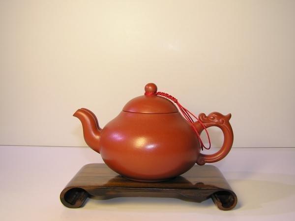 【兩隻老虎在賣(茶.壺)】精選茶壺~【雙嘴壺 老人茶壺 陶土茶壺】~《紅色》~容量︰180cc 03
