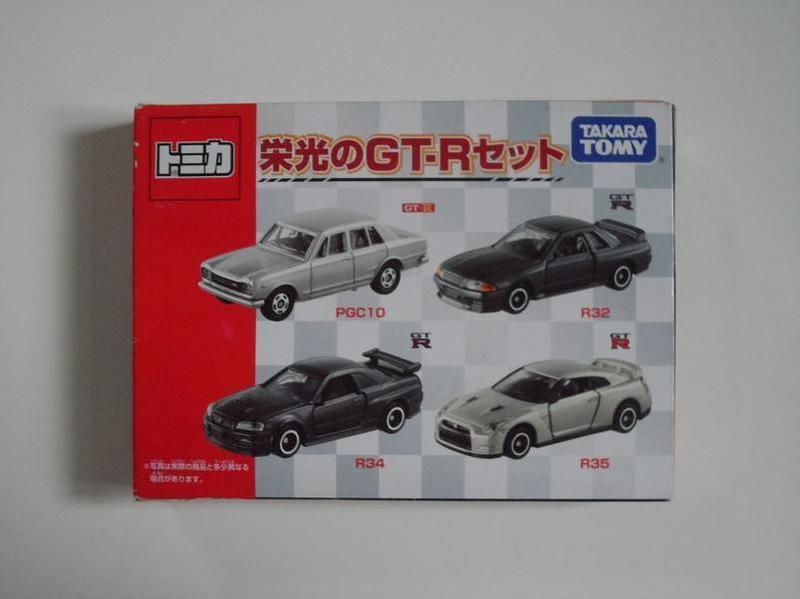 TAKARA TOMY TOMICA GT-R PCG10 R32 R34 R35 榮光 多美小汽車 火柴盒小汽車