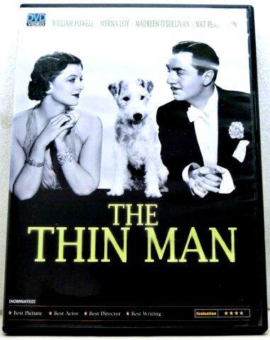 絕版市售 瘦子 (The Thin Man) 1934 & 白熱 (White Heat) 1949
