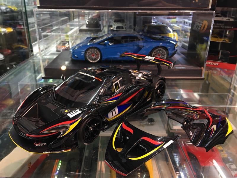 吉華科技@Almost Real 840108 McLaren P1 GTR James Hunt 紀念版 1/18