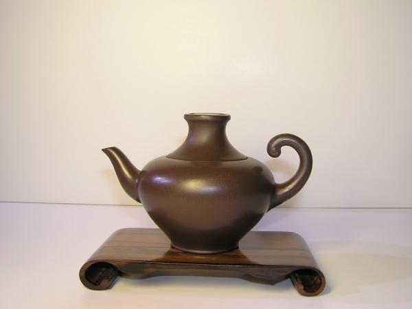 【兩隻老虎在賣(茶.壺)】精選茶壺~【印度神燈壺 老人茶壺 陶土茶壺】~《黑色》~容量︰150cc