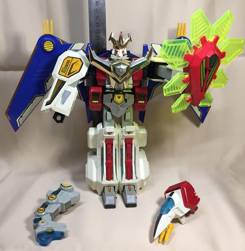 三不五時來逛逛~~託售稀有少見TOMY 1993 MADE IN JAPAN日本製熱血最強 ~熱血合體機器人