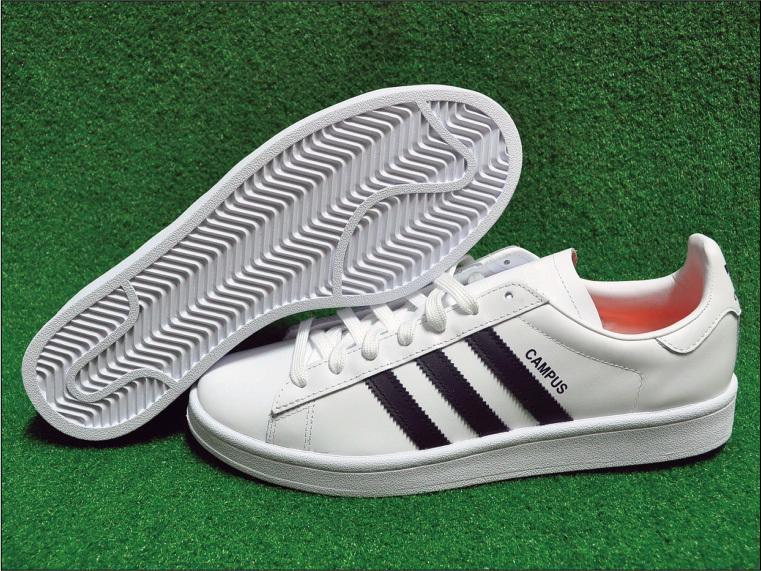 e8d7f36b802f GS只賣正品 Adidas Campus Beams 白黑皮革復古男女休閒鞋DB1450 - 露天拍賣
