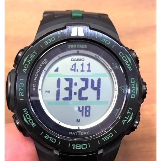 [ 實裝圖 ] 手錶鋼化膜 玻璃膜   可用於 CASIO 卡西歐 PROTREK  登山錶 PRW-S3100-1