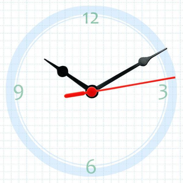 【鐘點站】T075050  SUN機芯專用塑膠指針 / 分針7.5公分 時針5公分 / DIY 時鐘 掛鐘 鐘針