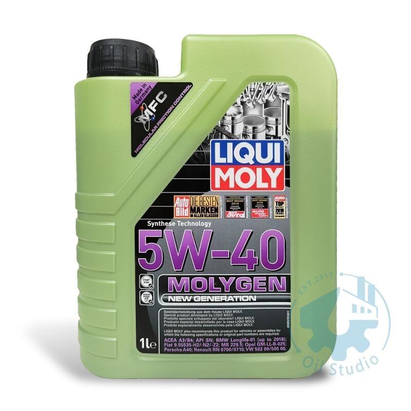 《油工坊》LIQUI MOLY MOLYGEN 5W40 液態鉬 全合成 機油 229.5 LL-01 SN