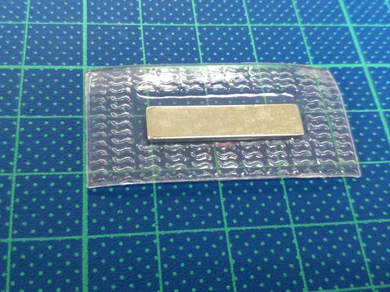 天母配件館- 銣鐵硼磁鐵  表面鍍鎳 包膜尺寸42*22MM 磁鐵尺寸 25*6MM 5個一拍