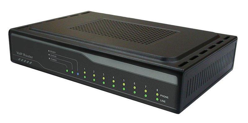全穎網路閘道器 ALLWIN GATEWAY HG380s 8埠 VoIP Gateway