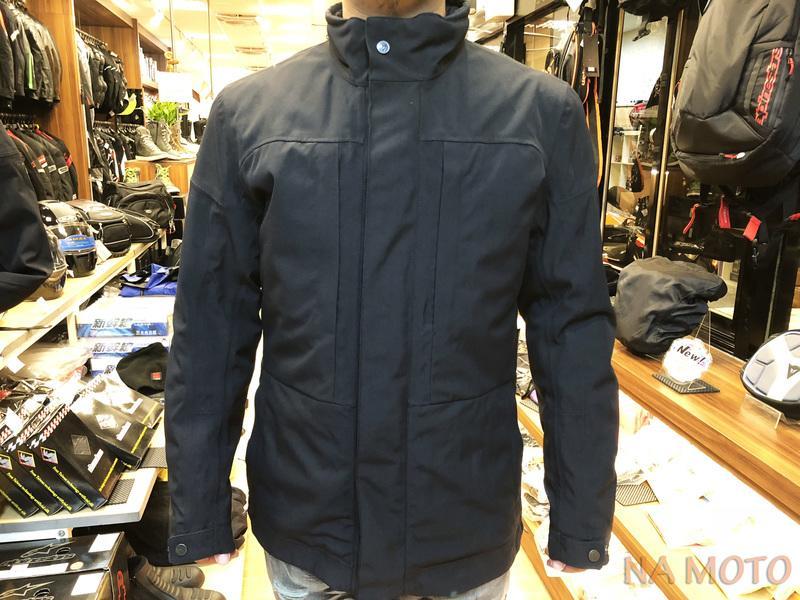 NA MOTO DAINESE HIGHSTREET D-DRY 冬季 防風 防水 保暖 大衣型 新型葉狀護具 內裡可拆