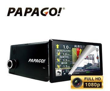 保固一年 送32G PAPAGO GoPad DVR7 七吋平板 wifi 聲控+衛星導航機+行車記錄器+測速提醒