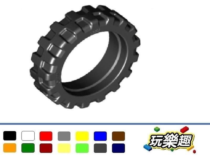 玩樂趣台中 LEGO 50861 車輪 21mm D. x 6mm 城市摩托車(單個)多色可選 二手零件