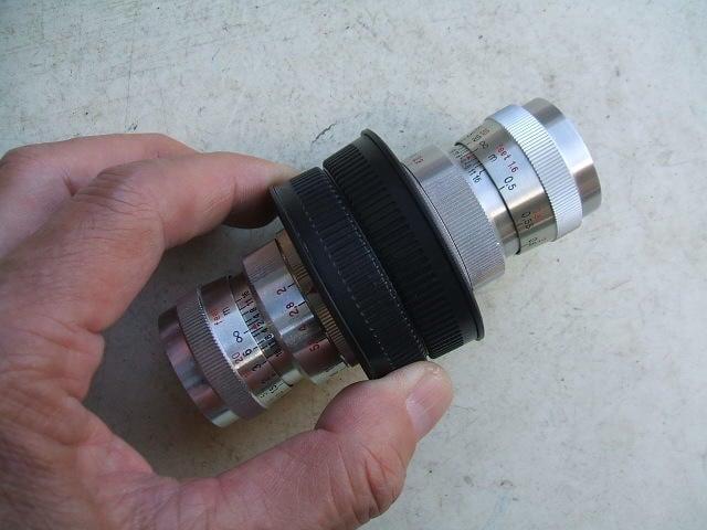 【AB的店】Zeiss Biotar 25mm f2+Sonnar 40mm f2.8電影鏡頭已改M4/3有實拍照