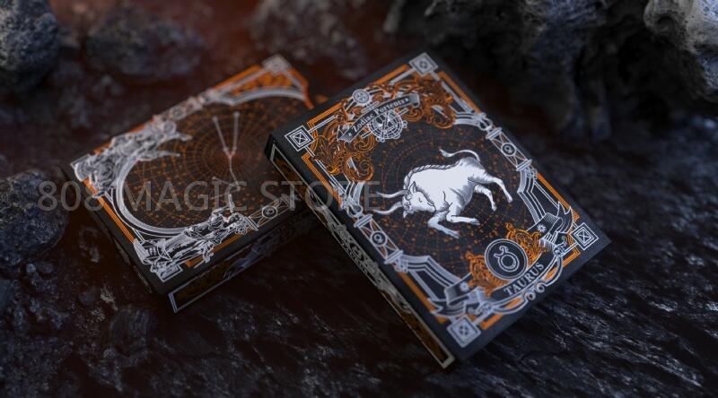 [808 MAGIC]魔術道具 808 星座牌 金牛座 Zodiac Portents Playing Card 金牛