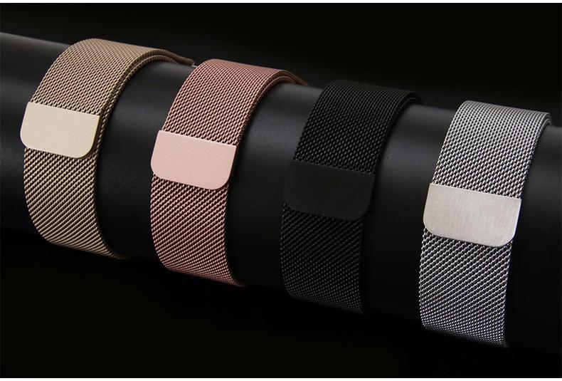 美人魚【米蘭尼斯+保護殼】Apple Watch 38mm Series 1/2/3 智慧手錶錶帶/磁扣式錶環/替換式