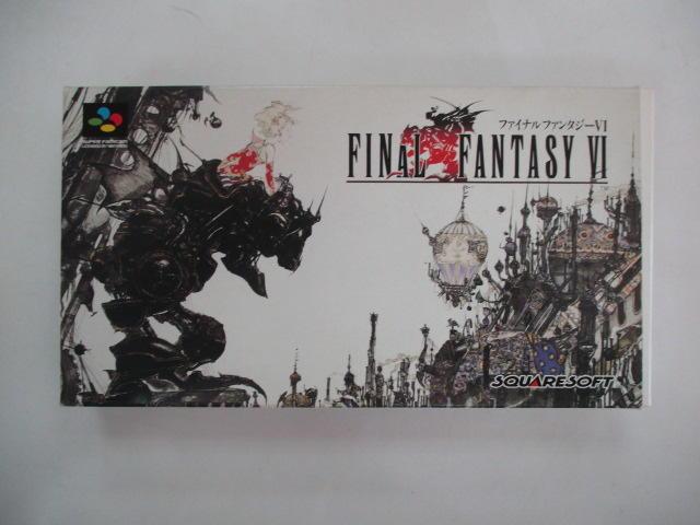SFC 日版 GAME 盒裝最終幻想6 (40994857)