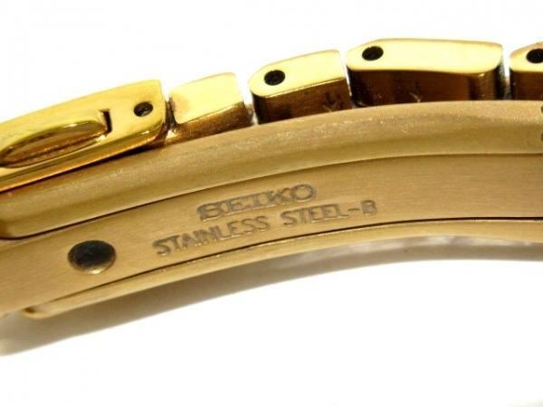 可使用~ 1B25-0AN0有髒污~lukia精工Seiko電池錶~不是現貨~35X28mm錶帶長14cm