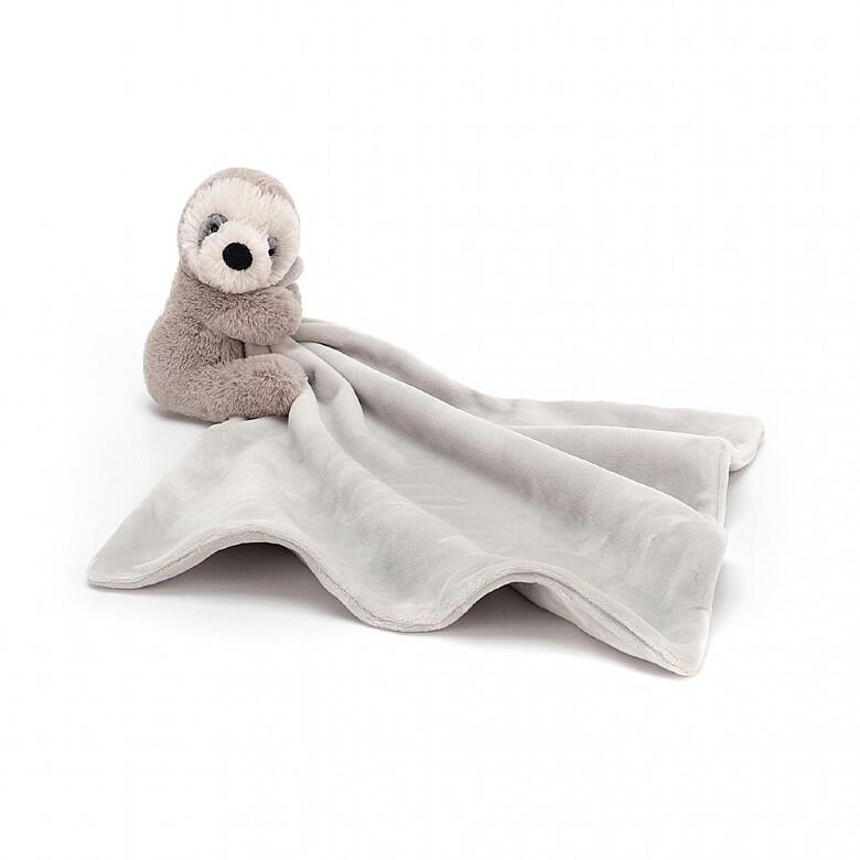預購 英國嬰幼兒第一品牌 JELLYCAT全品項代購 安撫巾- 可愛BABY 慵懶樹懶 新生兒 寶寶 彌月禮 生日禮