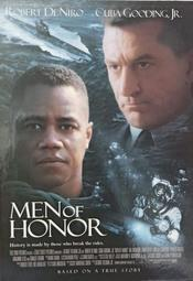 C電影酷卡明信片 怒海潛將 Men of Honor 勞勃狄尼洛 小古巴古丁