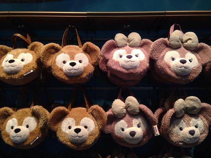 轉賣日本東京海洋迪士尼雪莉梅Shelliemay大頭包~可肩背/側背/後背/手提~現貨
