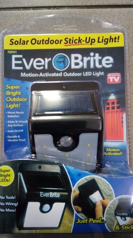 小羅玩具批發-太陽能充電戶外照明燈 8LED 自動感應燈 庭院/防盜燈 景觀壁燈 免電池(179958)