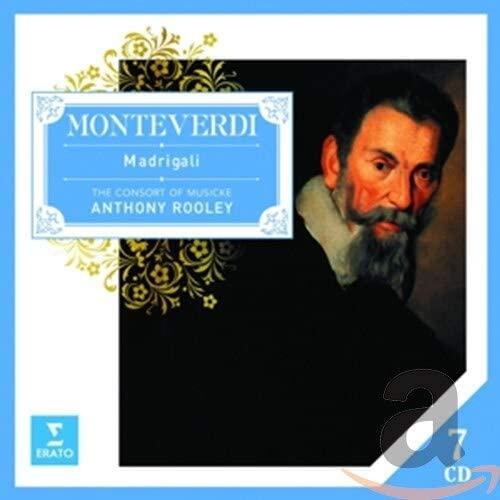 Monteverdi: Madrigali /蒙台威爾第:牧歌集 7 CD 正版全新