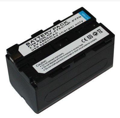 超 Sony NP-F750長效高容量 攝影燈專用電池 F750 F770 F930 F950 F530 F570