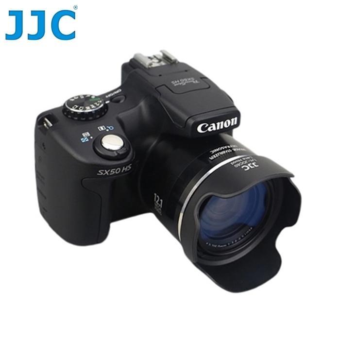 找東西@JJC佳能Canon副廠遮光罩LH-DC60適SX60 SX50 SX40 SX20 SX10相容Canon原廠