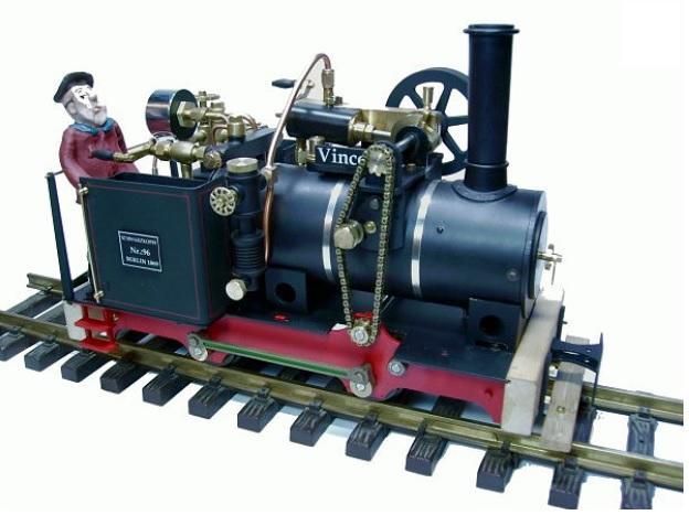 現貨 Regner 25460 G規 Vincent 蒸汽車.套件