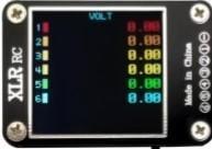 (嘉義遙控直昇機) 新款2-6S電壓測試/pwm/ppm/sbus測試 顯示器,接收機測試拉距
