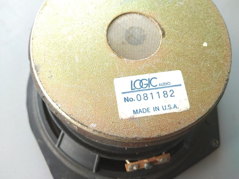 LOGIC   喇叭  U.S.A   6吋喇叭
