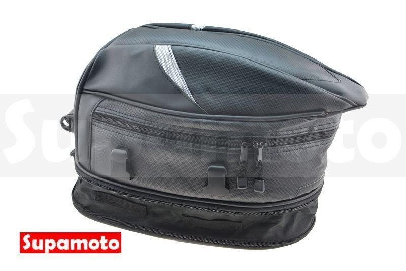 -Supamoto- 新款 車尾包 C款 碳纖維 後座包 防水包 防水 駝峰包 尾包 SR400 單座包 SB300