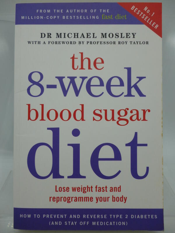 【月界2】The 8-Week Blood Sugar Diet_Dr. Michael Mosley 〖美容〗CQJ