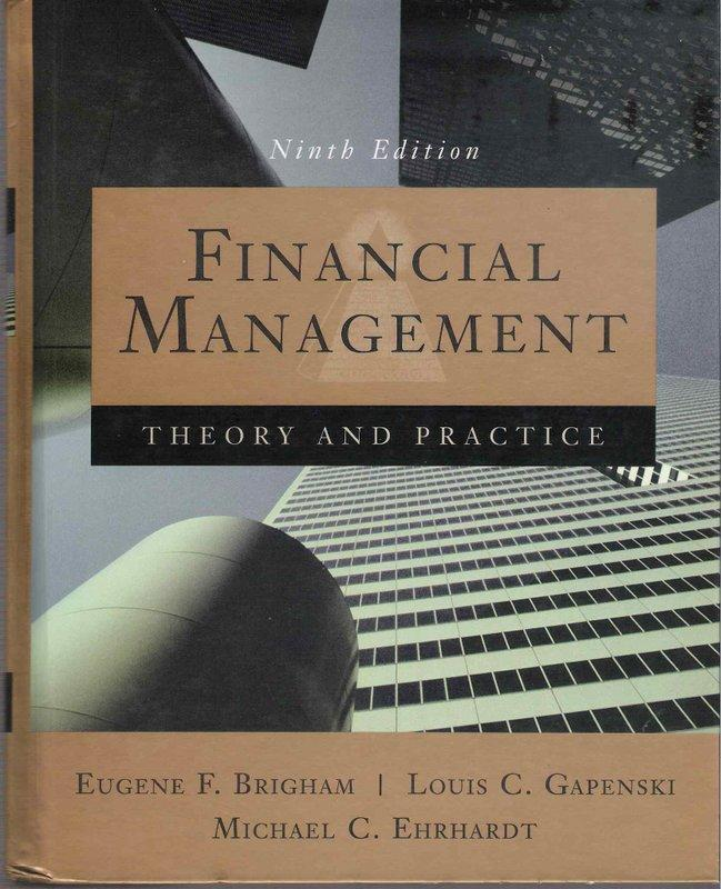 Financial Management / 9th edition / Eugene et al.