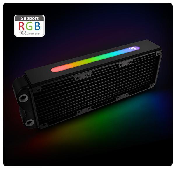 小白的生活工場*Thermaltake Pacific RL360 Plus RGB水冷排(CL-W182-AL00S)
