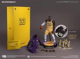 1230【搖滾吉米】預購 第一季 代理 ENTERBAY NBA 湖人隊 LeBron James 勒布朗 詹姆斯 免運