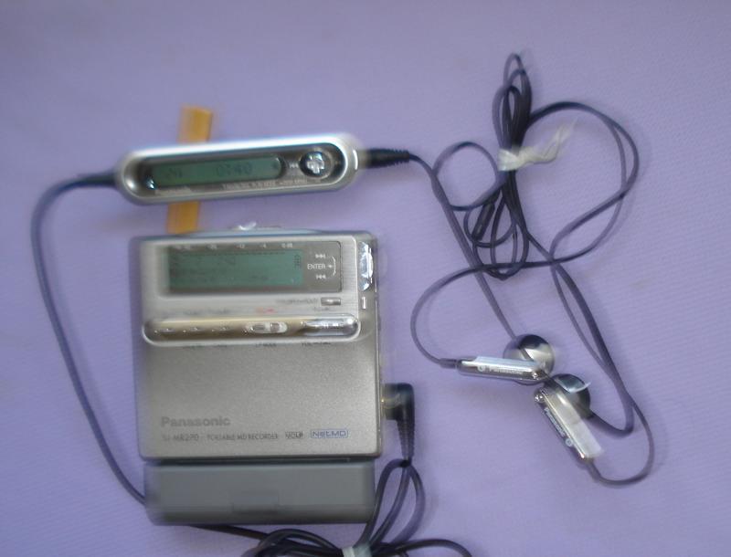 (美品) PANASONIC末代旗艦MD錄、放音隨身聽 SJ-MR270