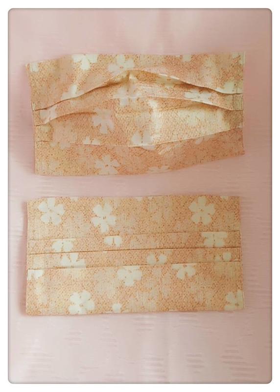 !日本絲光棉布口罩套:親膚、透氣、素雅,手作精緻,非工廠量產 【惠惠手作坊】