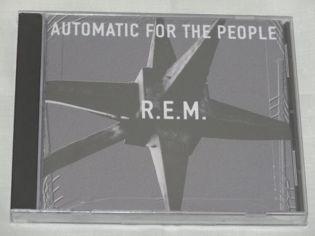 [老學校音樂館] R.E.M. - Automatic For The People 美版全新未拆