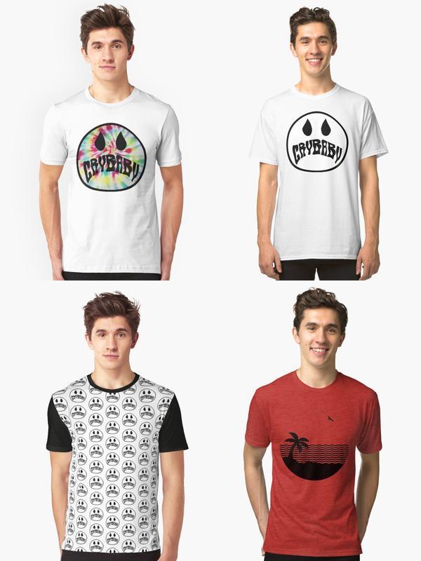 4e0caa987 HACKEN07|The Neighbourhood 美國獨立搖滾樂團Cry Baby 短袖T-shirt正版進口服飾