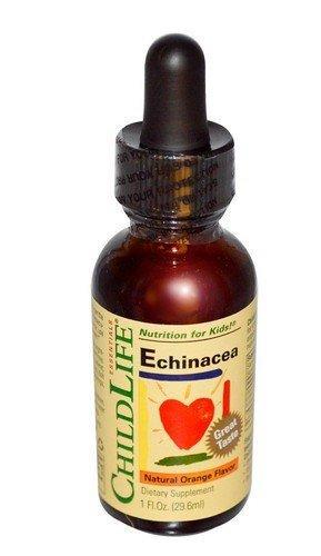 現貨Childlife,兒童紫錐菊/紫椎菊 營養滴劑 柳橙口味 Essentials, Echinacea 29.6ml