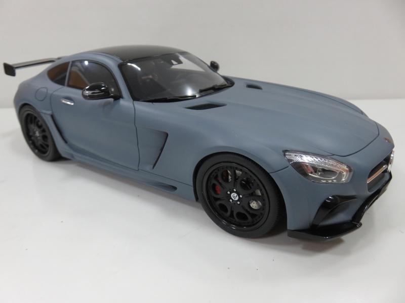 宗鑫貿易 GT / Kyosho KJ018 Mercedes Benz AMG GT FAB Design 消光灰